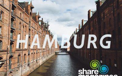 sharemagazines: Unser Weg nach Hamburg