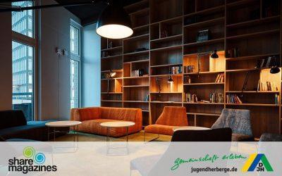 Nachhaltigkeit und Fortschritt: Die Jugendherberge in Oldenburg als neue sharemagazines – Location.
