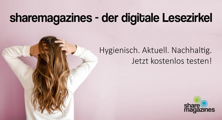 sharemagazines stellt digitalen Lesezirkel für Friseure im ersten Monat kostenlos zur Verfügung