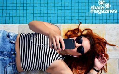 sharemagazines bietet Lesevergnügen unter Palmen