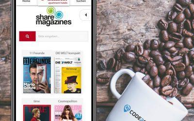 Digitaler Gästeservice in Hotels: CODE2ORDER und sharemagazines bündeln ihr Angebot