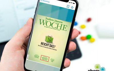 FAZ-Woche neu in der digitalen Bibliothek von sharemagazines!