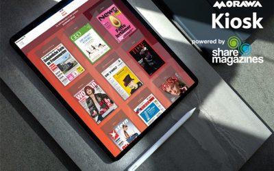 """""""Morawa Kiosk powered by sharemagazines"""": Österreichs führender Lesezirkel kooperiert mit sharemagazines"""