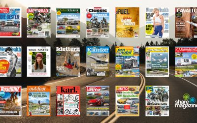 Motor Presse Stuttgart kooperiert mit sharemagazines