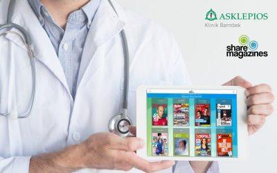 Digitaler Lesezirkel ab sofort in Asklepios Klinik Barmbek verfügbar