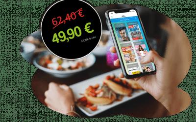 Gastronomie goes digital – speisekarte.de und sharemagazines bündeln ihre digitalen Angebote