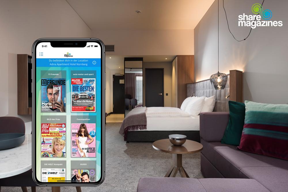 Adina Apartment Hotel Nürnberg als unsere Location des Monats