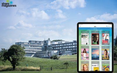 Gruezi und hallo! Das Spital Muri als sharemagazines #LocationdesMonats