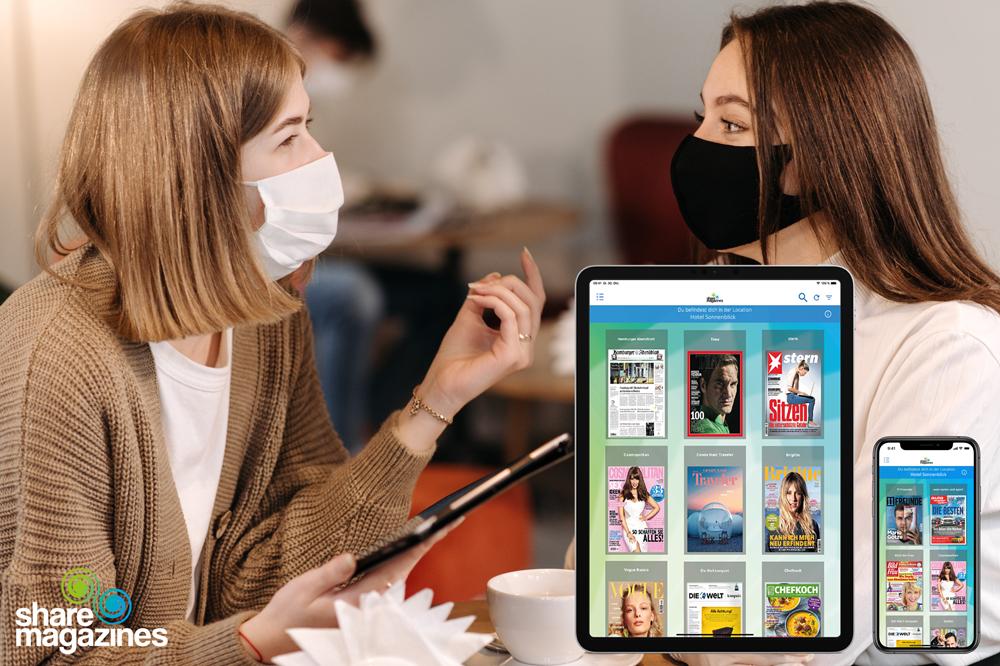 Der digitale Lesezirkel von sharemagazines auf der INTERGASTRA digital