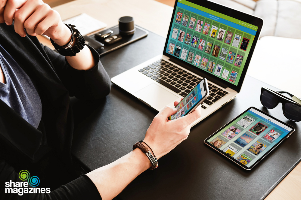 Technologisches Umdenken in Gewerbebetrieben: Rekordjahr für digitalen Lesezirkel sharemagazines