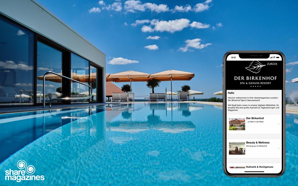 Der Birkenhof | Spa & Genuss Resort***** als #LocationdesMonats September
