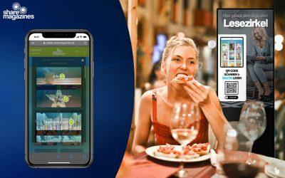 Neue Kooperation mit AudaMedia – sharemagazines auf den TouchWALLs